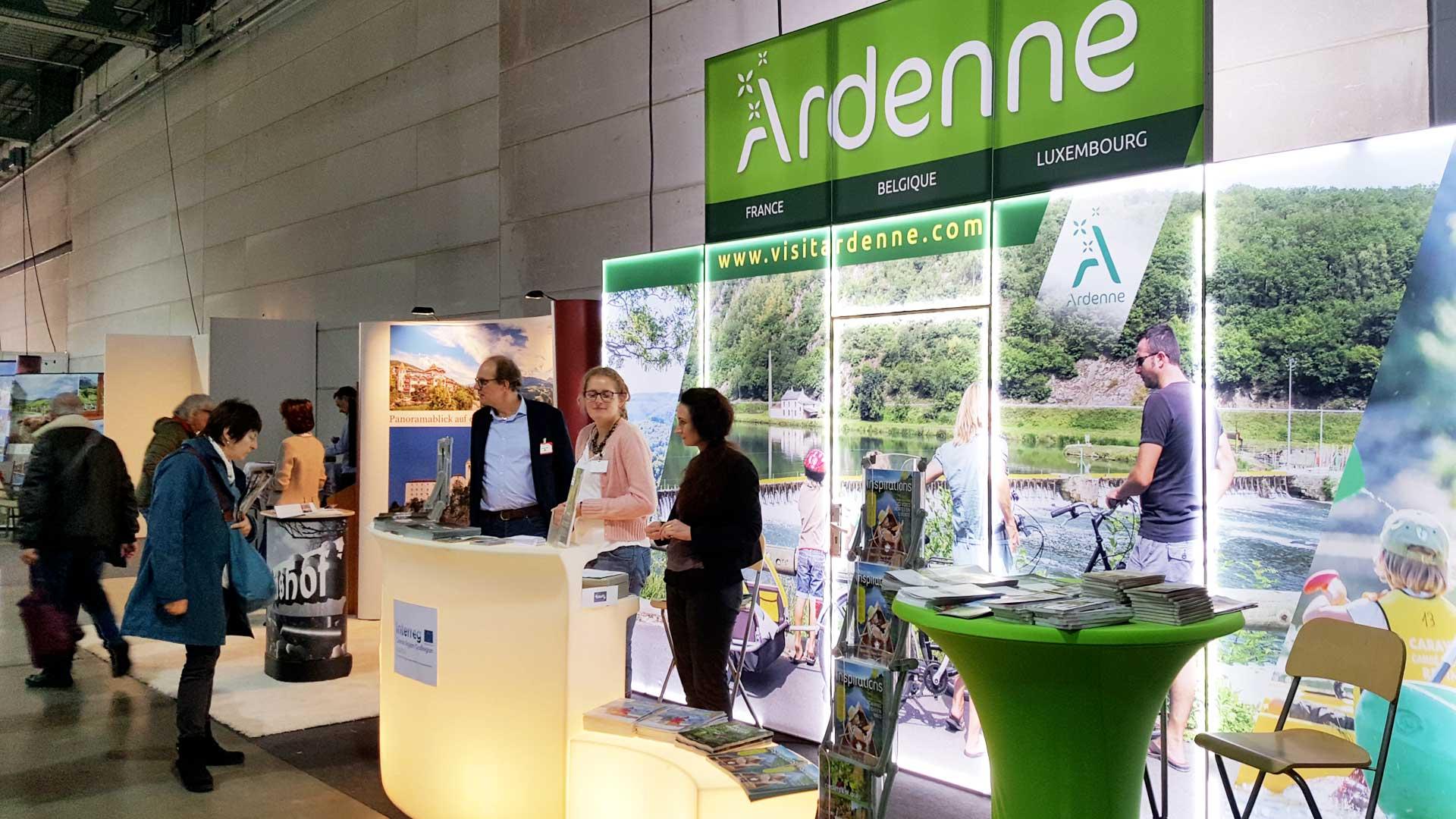 La marque Ardenne au Salon Vazkanz au Luxembourg en 2018