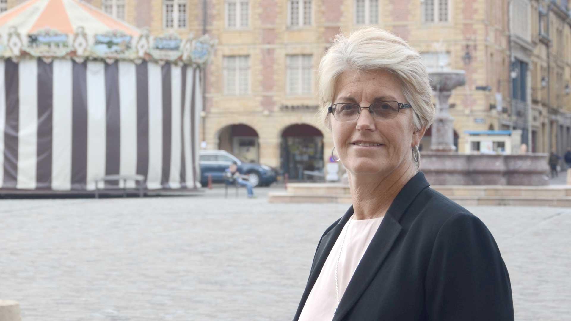 Portrait de Dominique Arnould, présidente du GEIE Destination Ardenne