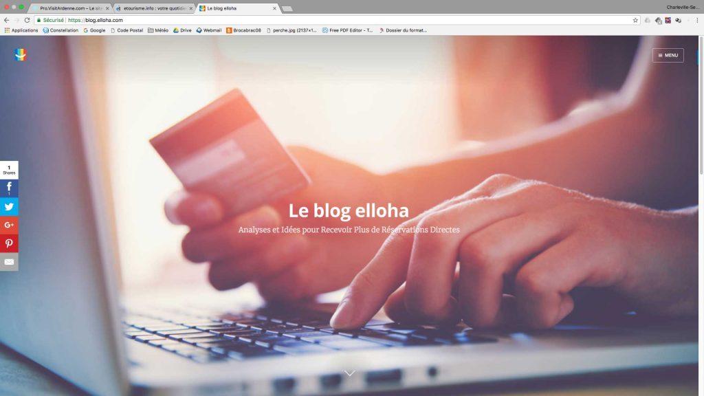 Blog Elloha pour les professionnels du tourisme