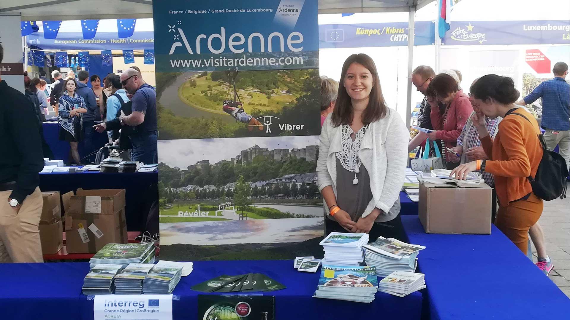 L'Ardenne à la Fête de l'Europe (Luxembourg-ville 2018)