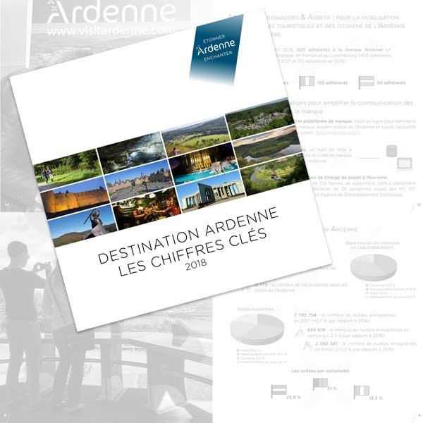 Chiffres clés de la destination Ardenne 2018