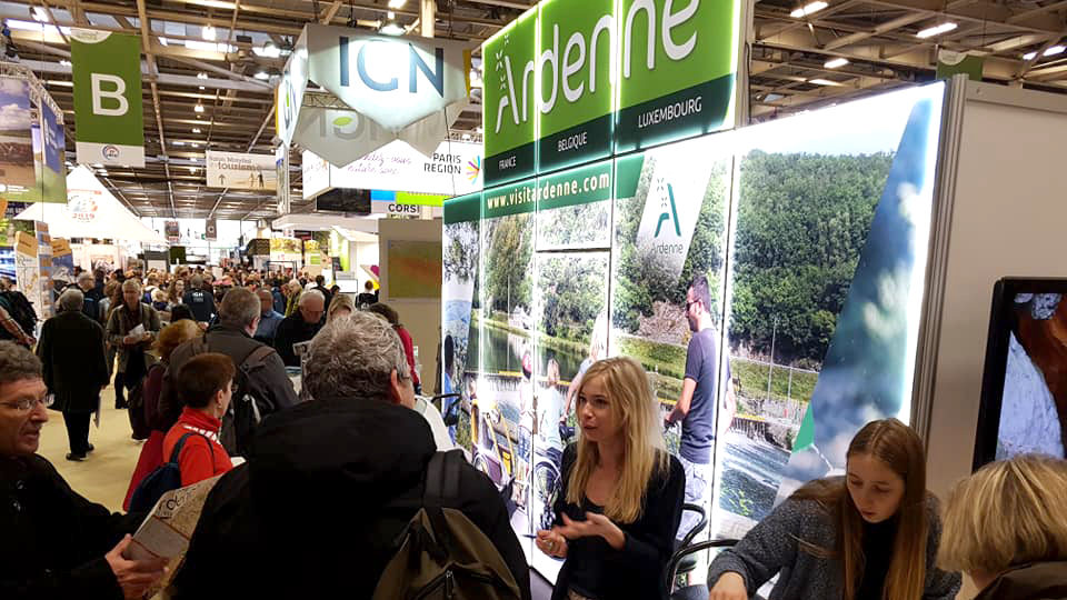 L'Ardenne au salon Destination Nature de Paris 2019
