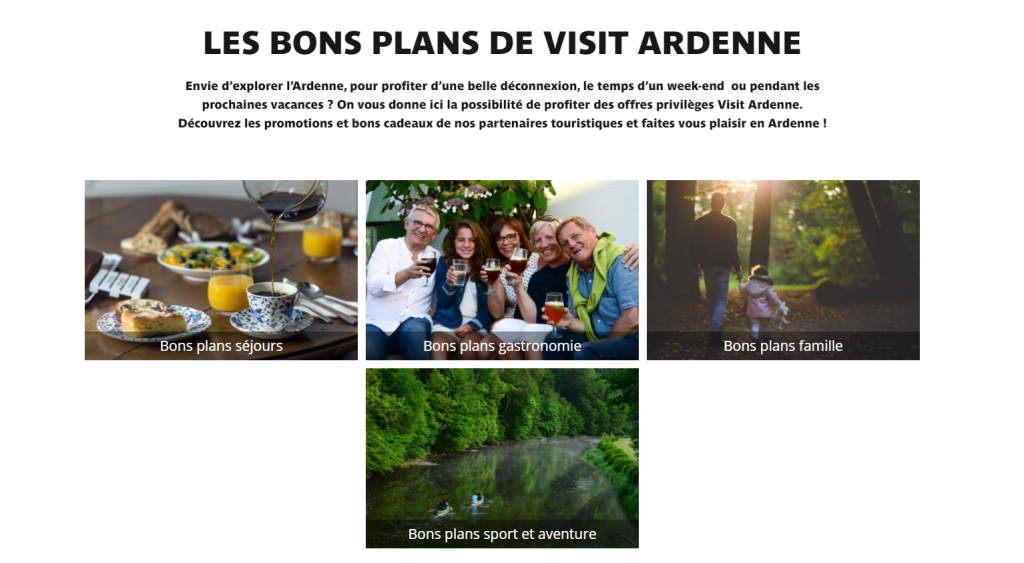 Bons plans Visit Ardenne