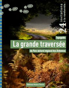 couverture topoguide Grande Traversée du PNR des Ardennes
